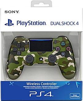 Sony Dualshock 4 Controller Green Camo