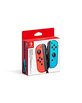 Joy-Con Controller Pair - Neon Red Blue