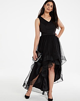 Chi Chi London Tulle High Low Dress