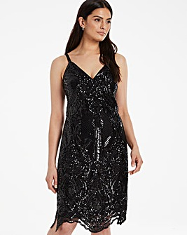 Chi Chi London Sidia Sequin Dress