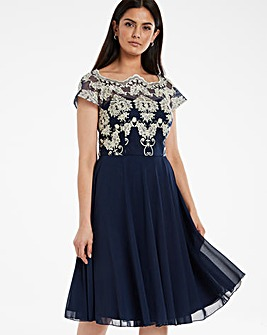 Chi Chi London Riri Lace Dress