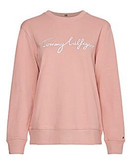 Tommy Hilfiger Graphic Crew Neck Sweatshirt