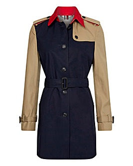 Tommy Hilfiger Cotton Trench Coat