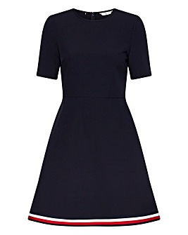 Tommy Hilfiger Angela Fit and Flare Dress