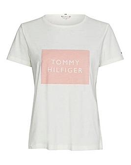 Tommy Hilfiger Box Crew Neck T Shirt