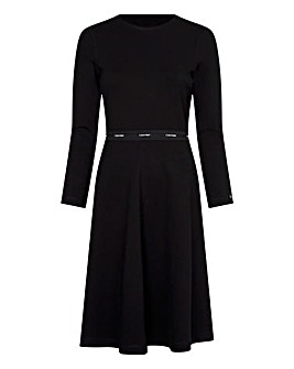 Calvin Klein Milano Crew Neck Dress