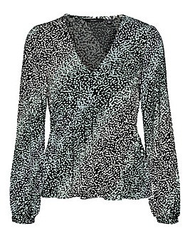 Vero Moda Long Sleeve V Neck Top