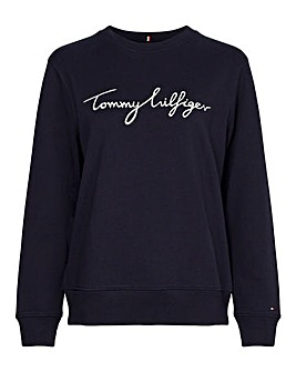 Tommy Hilfiger Graphic Crew Neck Sweatshirt