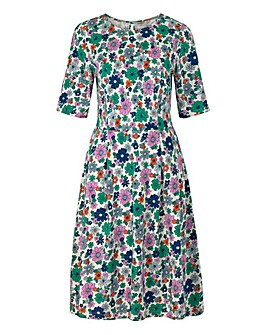 Cath Kidston Pleated Jersey Dress
