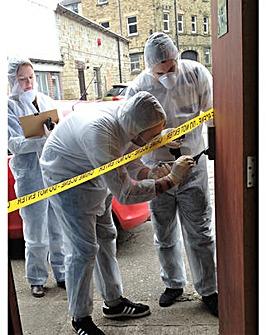 Crime Scene Investigation Experience Day