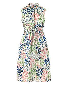 Cath Kidston Tie Waist Shirt Dress
