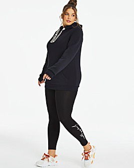 Hype Legging with White Script Logo
