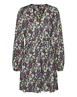 Vero Moda Floral V Neck Dress