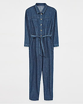 White Stuff Denim Boilersuit