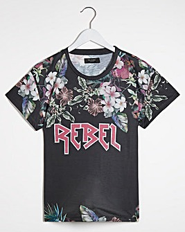 Religion Rebel Printed Tee