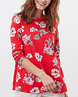 Joules Harbour Floral Swing Top