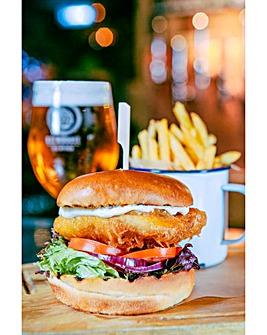 Beer Tasting & Gourmet Burger Meal - 2