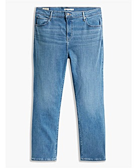 Levi's High Rise Straight Jeans