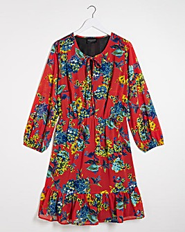 Lovedrobe Printed Skater Dress