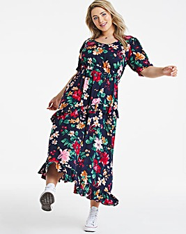 Lovedrobe Printed Midi Dress