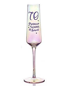 LUSTRE PROSECCO GLASS - 70