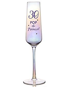 LUSTRE PROSECCO GLASS - 30