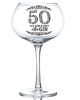 GIN BLOOM GLASS - 50