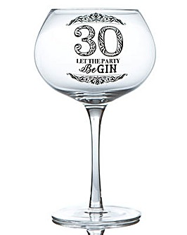 GIN BLOOM GLASS - 30