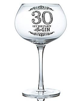 GIN BLOOM GLASS - 30