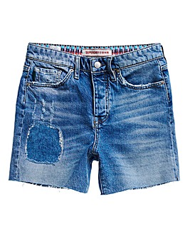 Superdry Mid Rise Slim Shorts