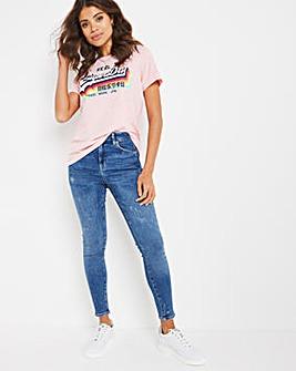 Superdry High Rise Skinny Jean