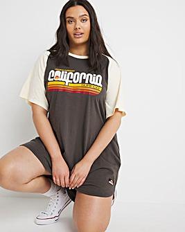 Superdry Cali Surf T-Shirt Dress