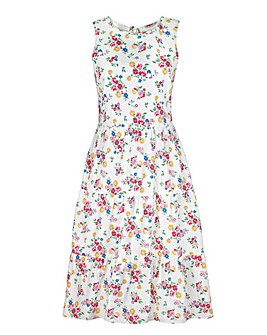 Cath Kidston Printed Tiered Dress