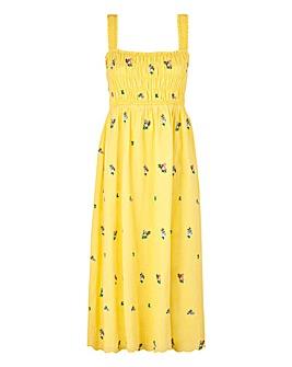 Cath Kidston Smocked Midi Sun Dress