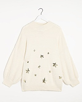 Lovedrobe Star Jumper