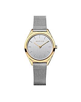 Bering Ladies Ultra Slim Mesh Bacelet Watch