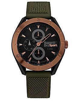 Gents Superdry Round Dial Strap Watch