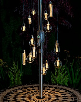 Outdoor Bulb Chandelier