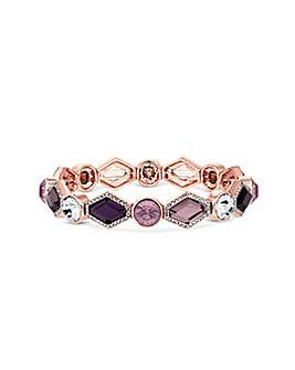Rose Gold Plated Crystal Bracelet