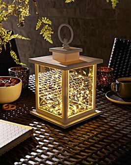 White Garden Lantern