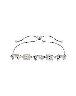 Sterling Silver 925 Toggle Bracelet