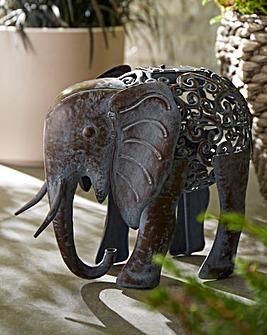 Solar Elephant Garden Light