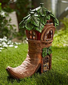 Fairy Shoe House Garden Light