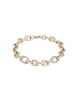 Lipsy Gold Link Bracelet