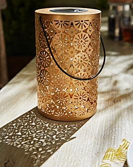 Solar Moroccan Silhouette Lantern