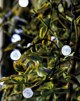 50 Superbright Solar Orb String Lights