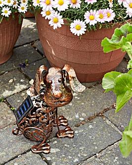 Smart Garden Solar Silhouette Dog