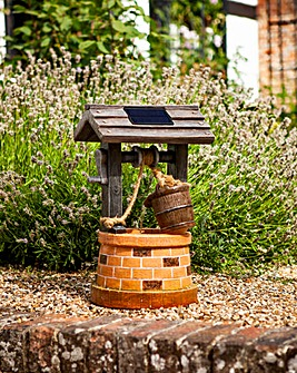 Wishing Well Solar Fountain