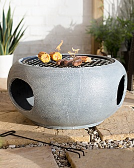 La Hacienda Firepit with Cooking Grill