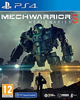 MechWarrior 5 Mercenaries PS4